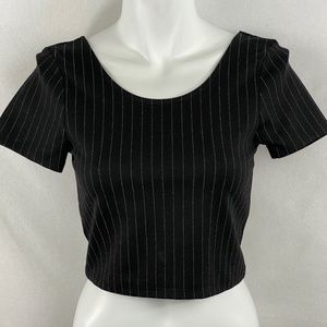 NWT Subdued Open back Top - S